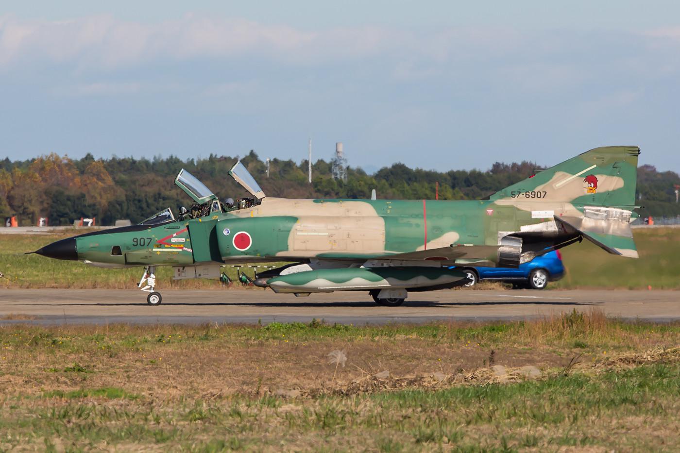 RF-4EJ Kai von der Morgenposition aus.