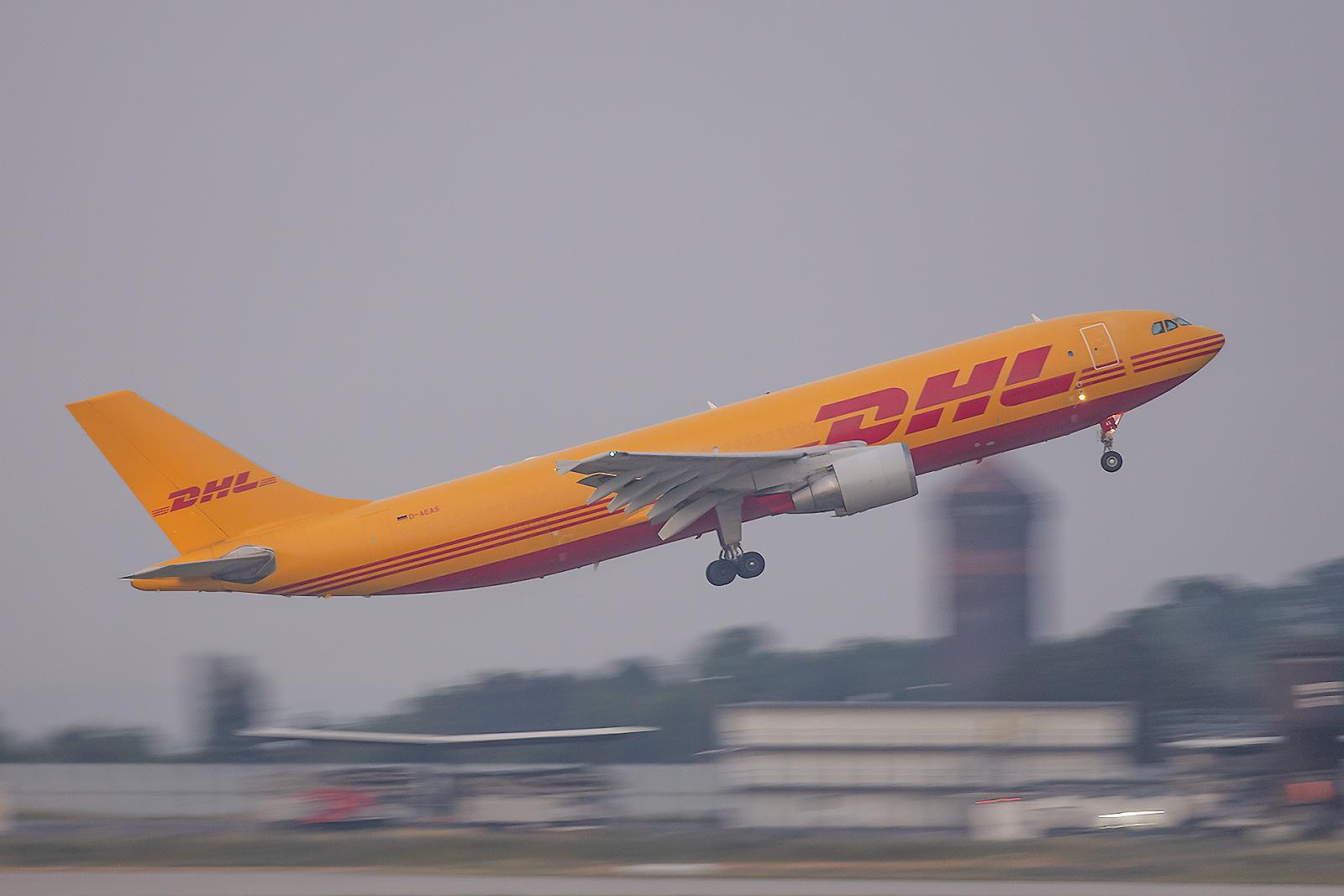 Die D-AEAS ist eine A300 die man von Japan Airlines übernommen hatte und die in Dresden zum Frachter umgebaut wurden.