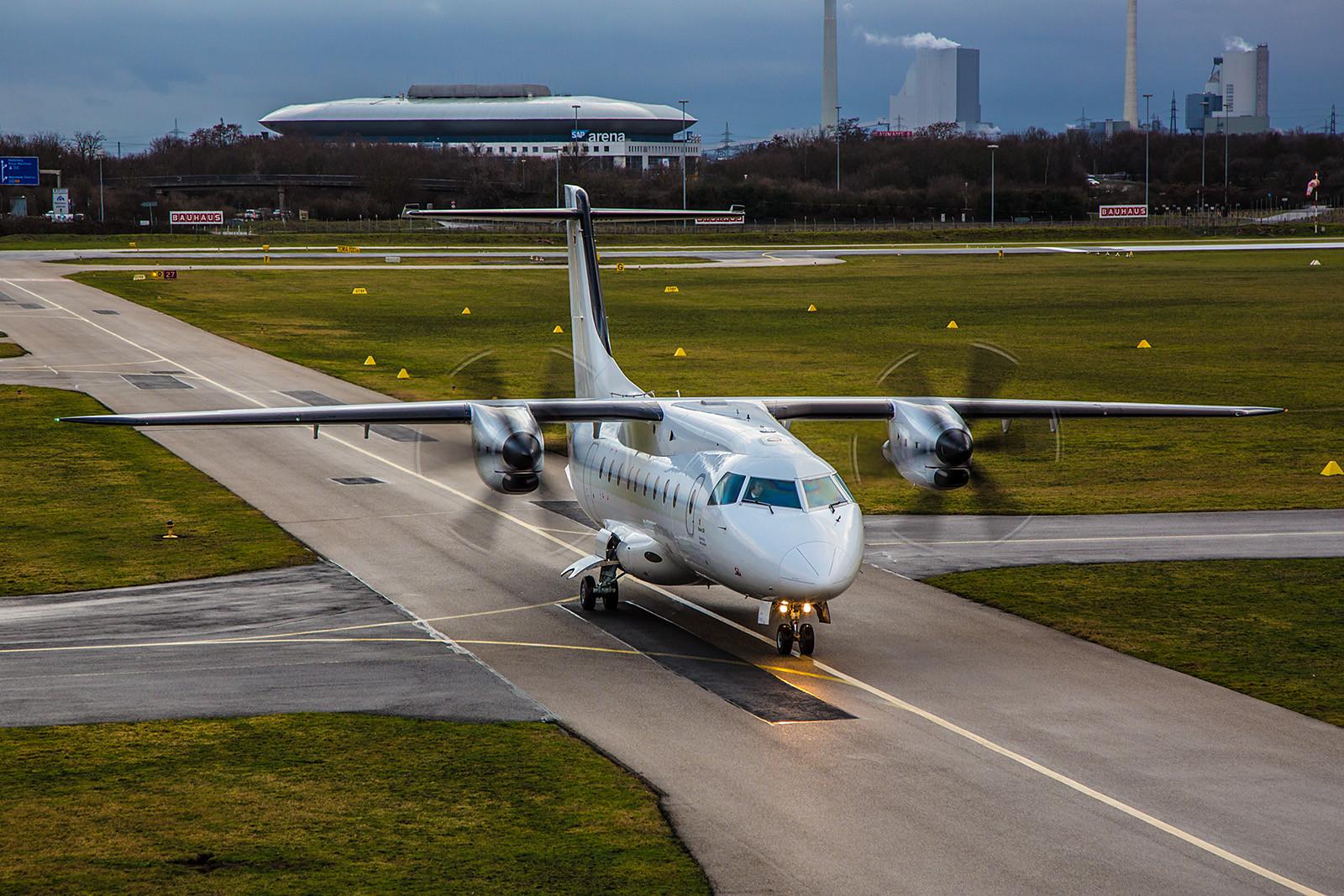 EDFM 12.01.2016; D-CMHA Dornier DO328; MHS Aviation für Rhein Neckar Air