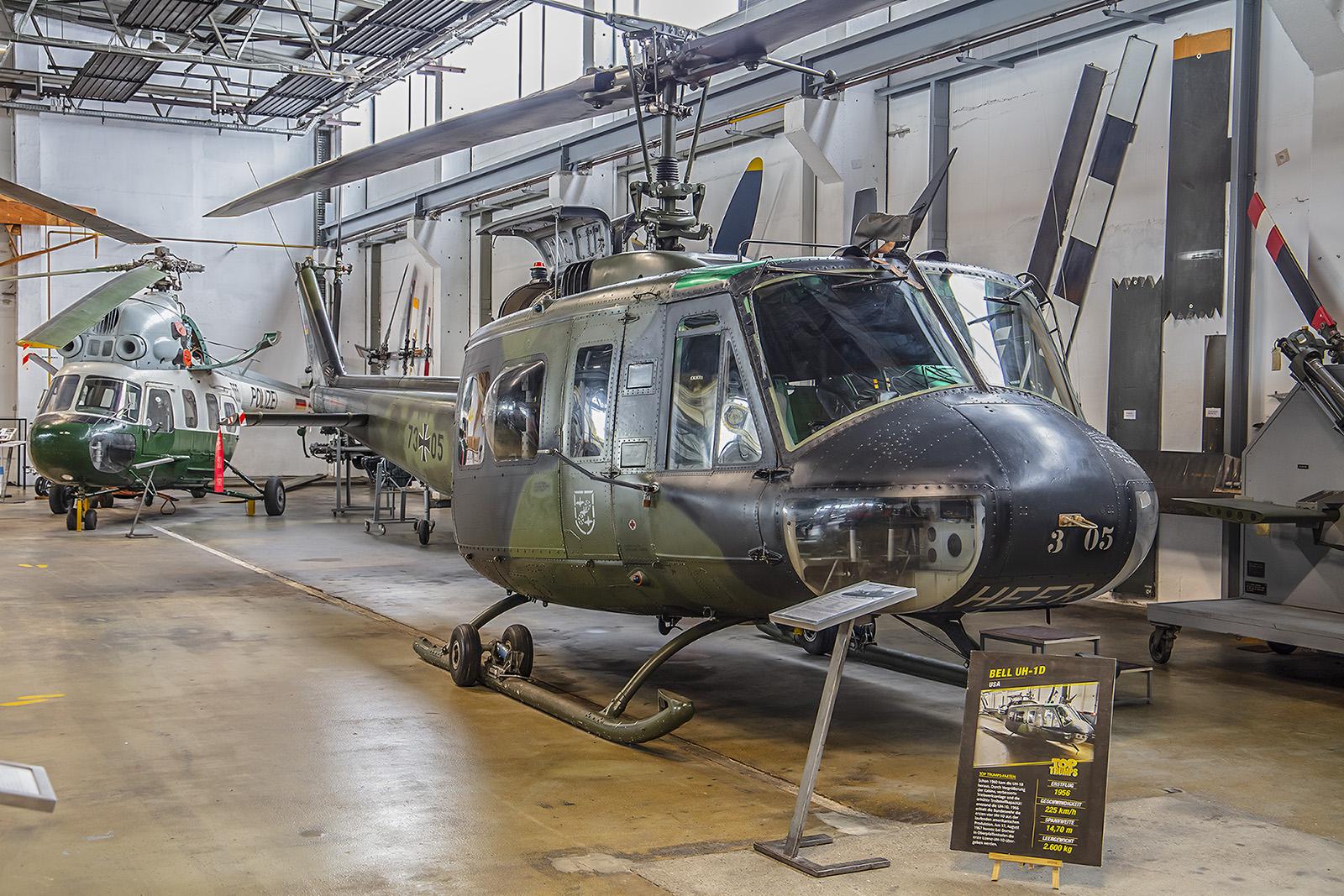 Wernigerode - UH-1D der Bundeswehr.