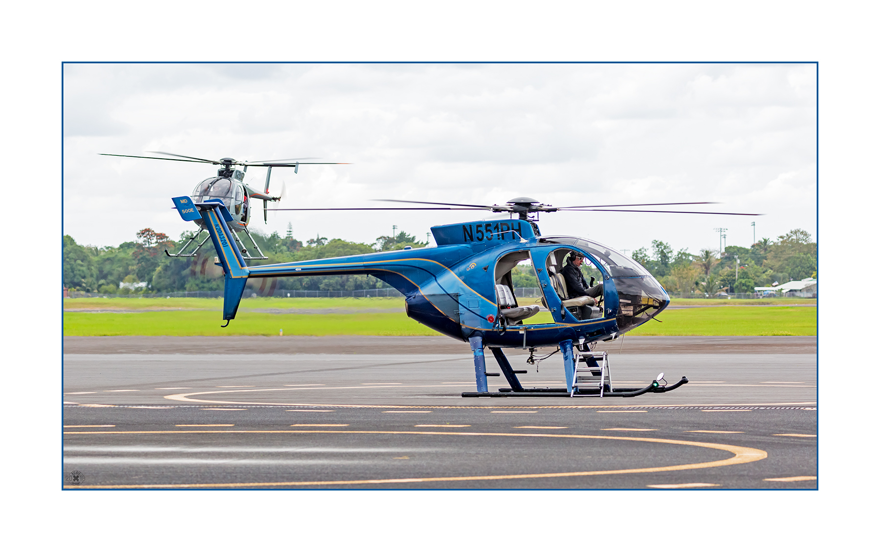 Hughes MD500E N551PH Paradise Helicopters