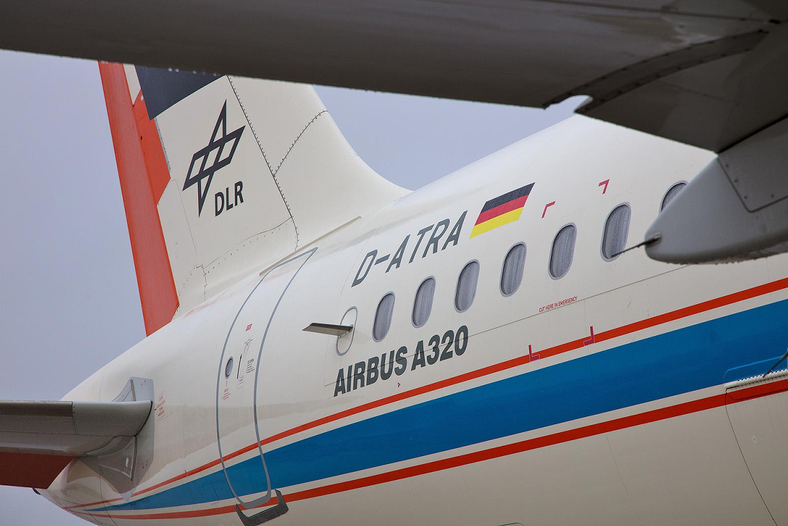 21 Jahre ist der Forschungsflieger schon alt, seit 2006 fliegt er  für´s DLR.