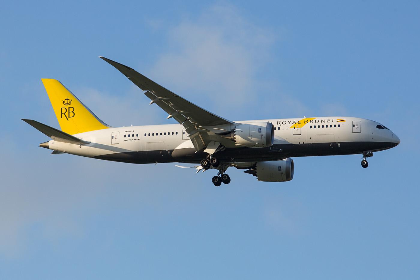 Auch die Royal Brunei betreibt vier 787-8.