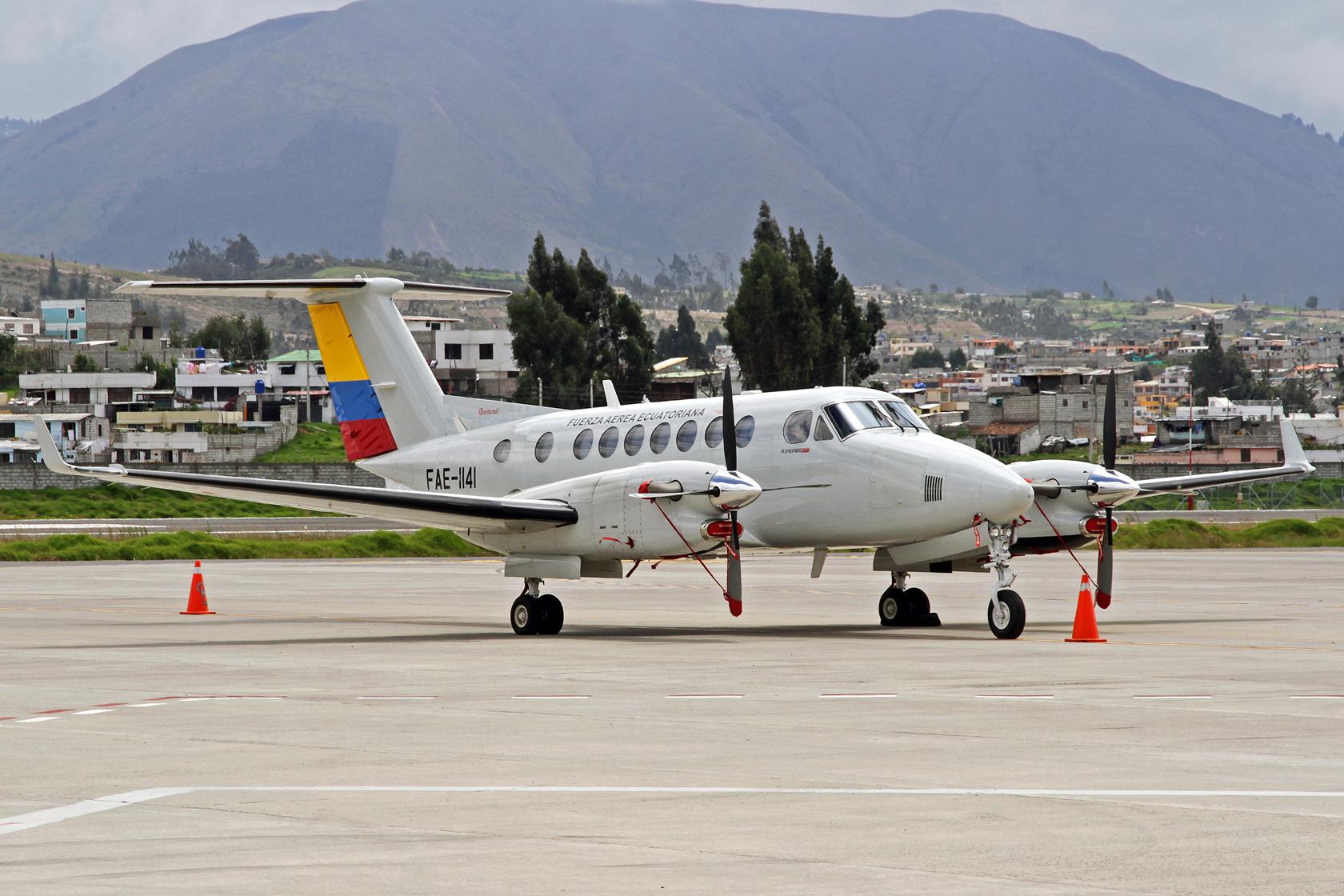 Fuerza Aérea Ecuatoriana Beechcraft King Air B350 FAE-1141
