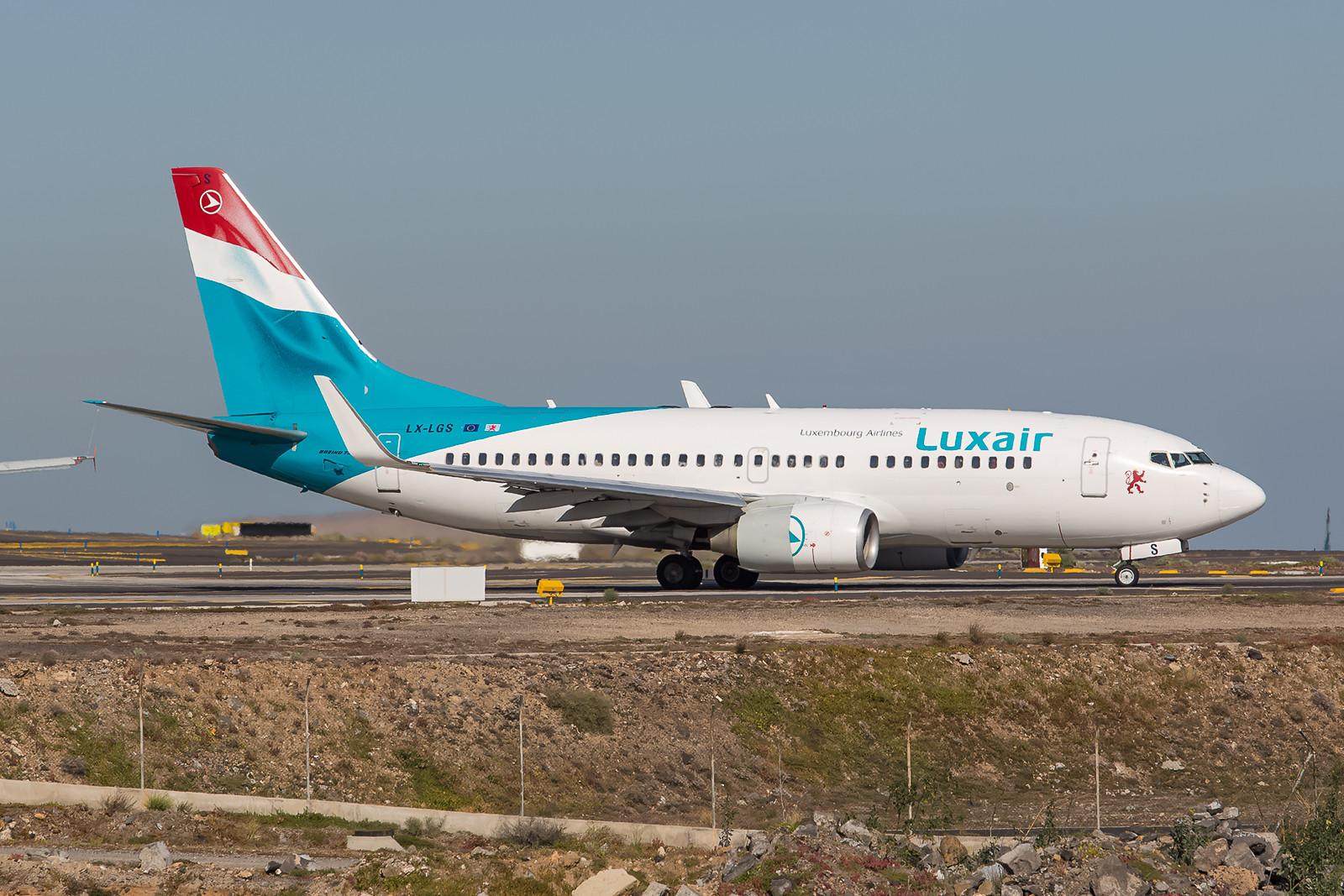 Seit kanpp 10 Jahren ist diese Boeing 737-7C9 schon bei der Luxair im Dienst.
