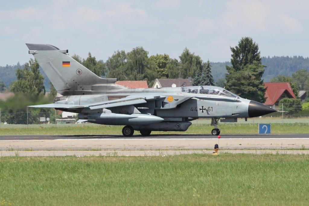 Ein Tornado IDS in Recce-Konfiguration auf dem Fliegerhoerst in Neuburg/ Donau. Die Maschine gehört zum AG 51 und war auch in Afganistan im Einsatz.