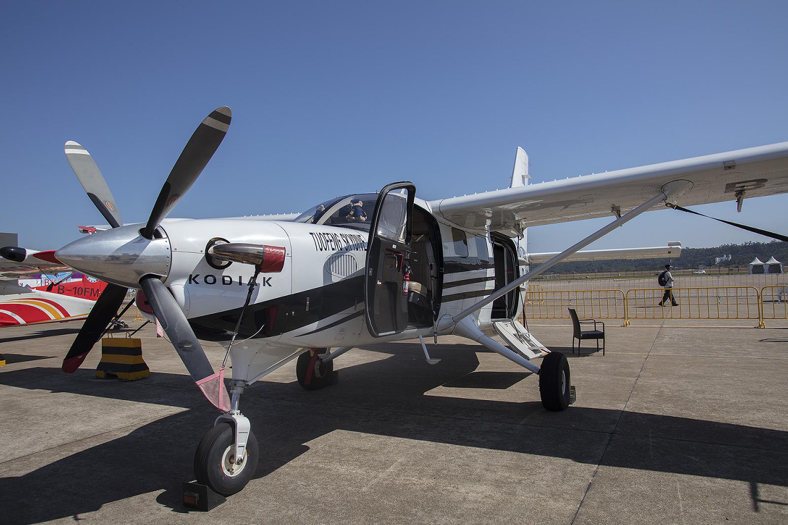 In der gleichen Liga speilt die Kodiak 100 von Quest Aircraft.