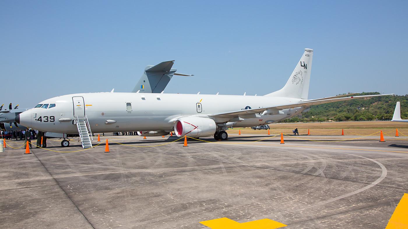 "P-8 Orion der VP-45 ""Pelican"" aus Jacksonville (FL)."