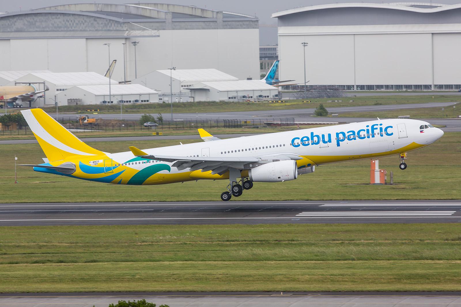 Ein A330-300 in den neuen Farben der Cebu Air von den Philippinen.