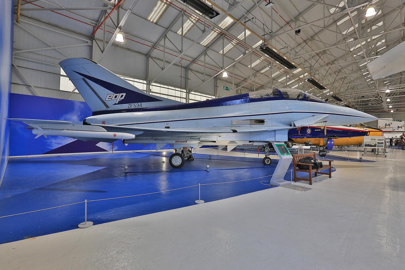 Mit dem EAP wurde der Grundstein für den Eurofighter Typhoon gelegt.