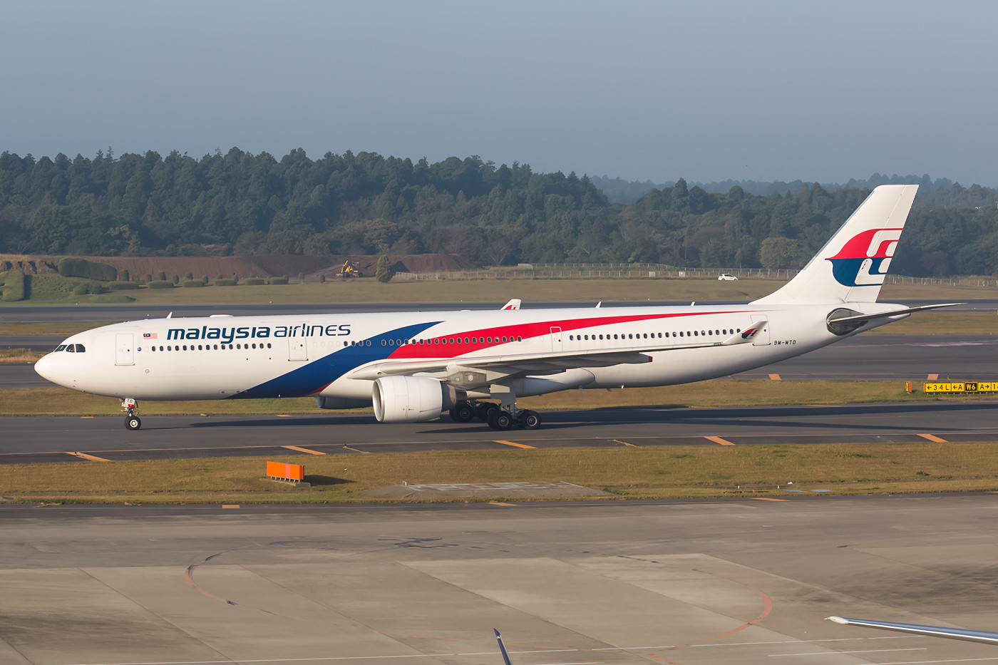 A 330-300 der Malaysia Airlines.