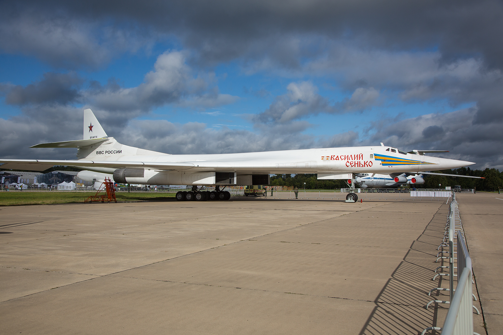 Strategischer Bomber Tupolev Tu-160.