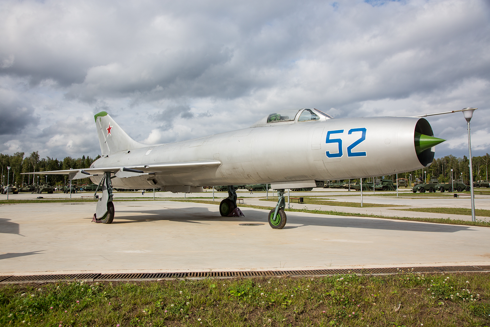 Sukhoi Su-9, rund 1100 Exemplare dieses Typs wurden gebaut, jedoch kam das Muster nie in den Export.