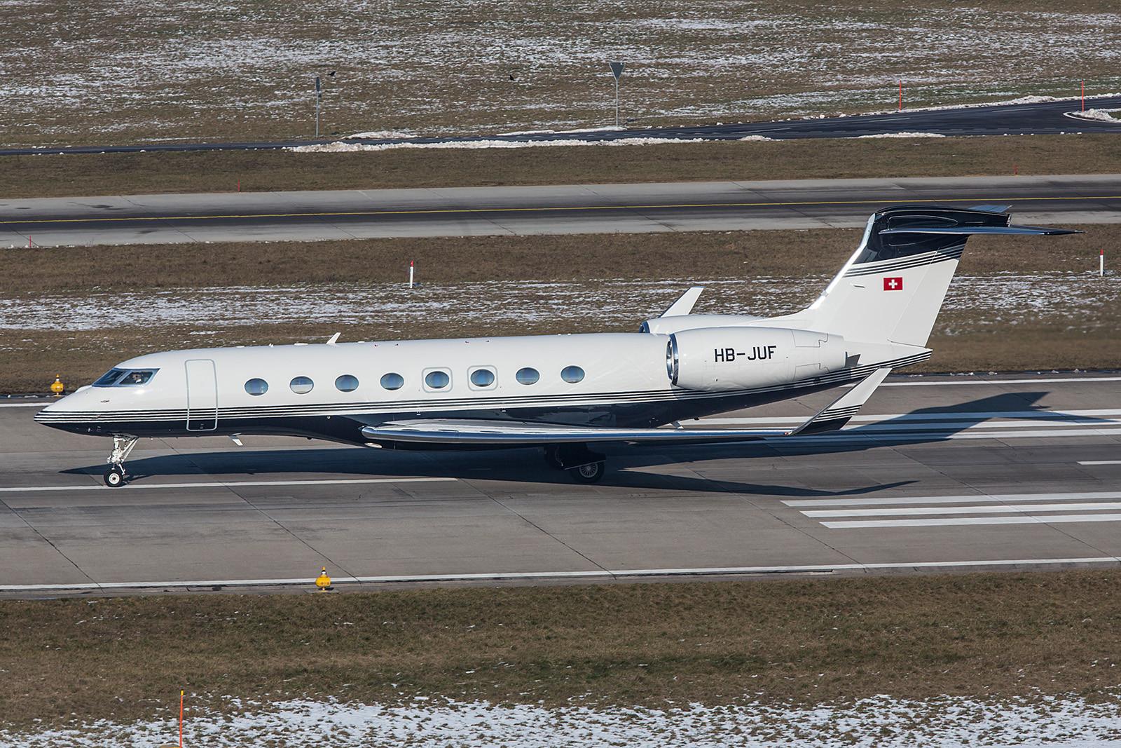 HB-JUF; Swiss Jet AG Gulfstream G650