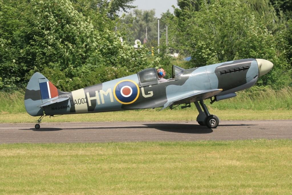 Die derzeit aktuelle Version der Supermarine Spitfire, die Version Mk.XXVI.