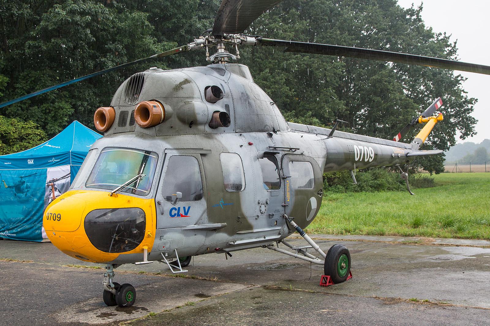 Die 0709 gehört zur Flugschule CLV in Pardubice und ist damit nicht mehr offiziell im Bestand der Luftwaffe.