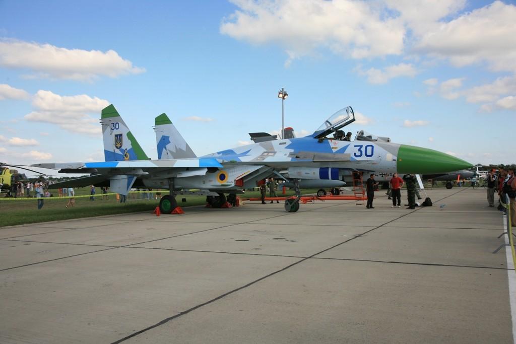 Suchoi SU 27 aus der Ukraine.
