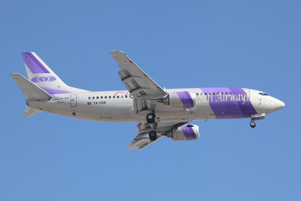Die Safi Air aus Afganistan mit Boeing 737-300.