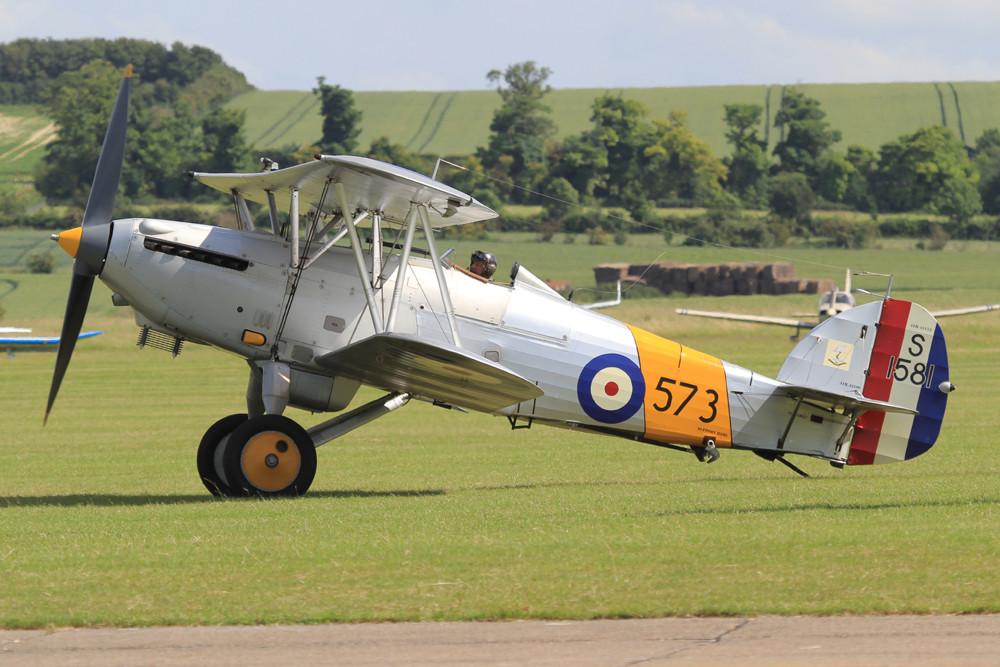 Der letzte flugfähige Hawker Nimrod aus der Welt, die S1581.