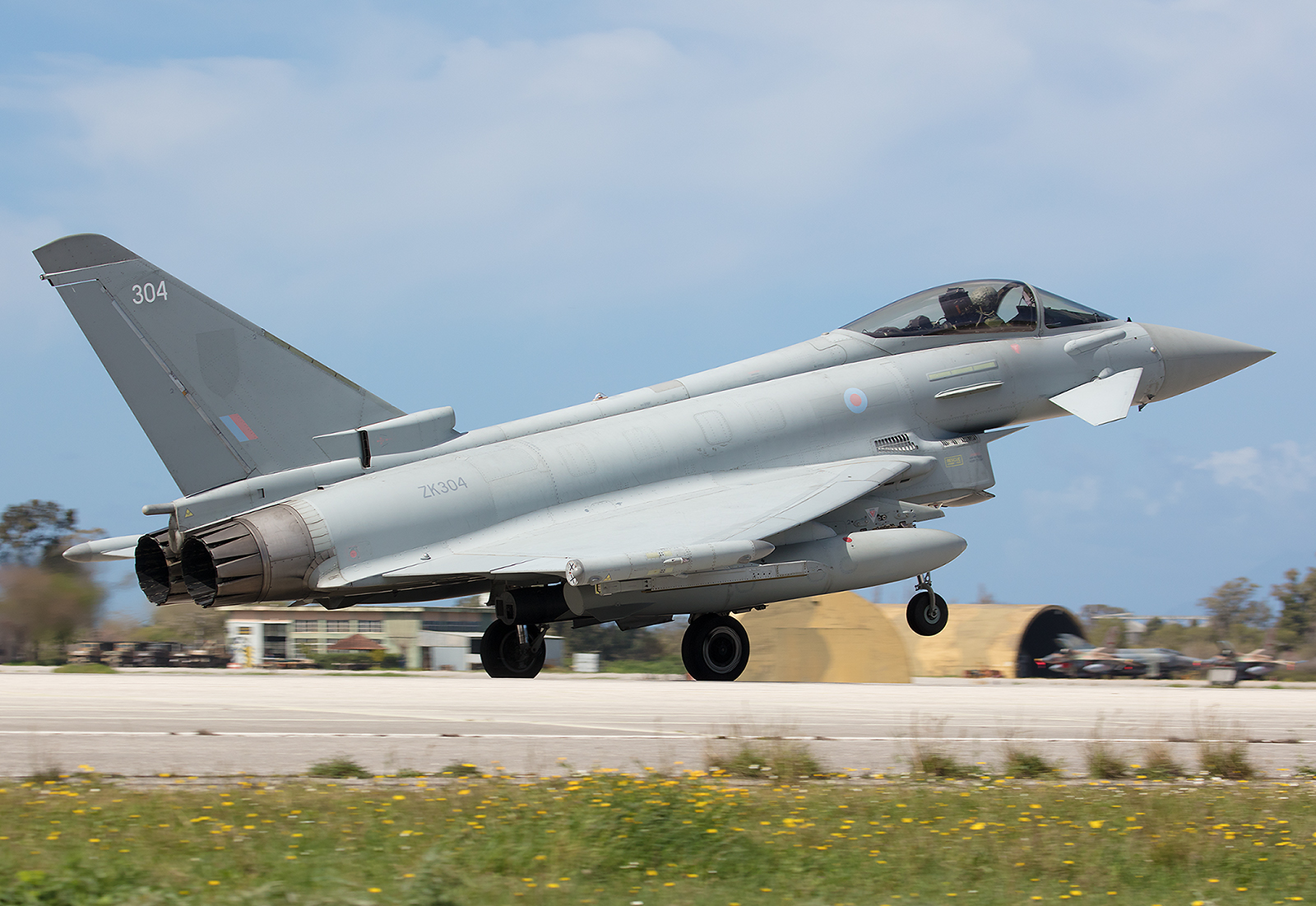 ZK304, Eurofighter Typhoon der Royal Air Force ohne Markings.