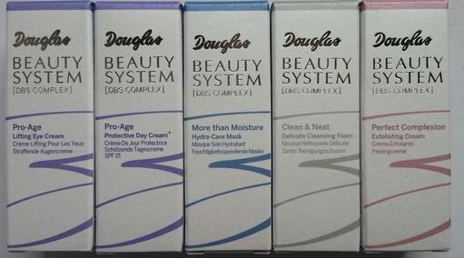 Nuovi prodotti Douglas linea Beauty System