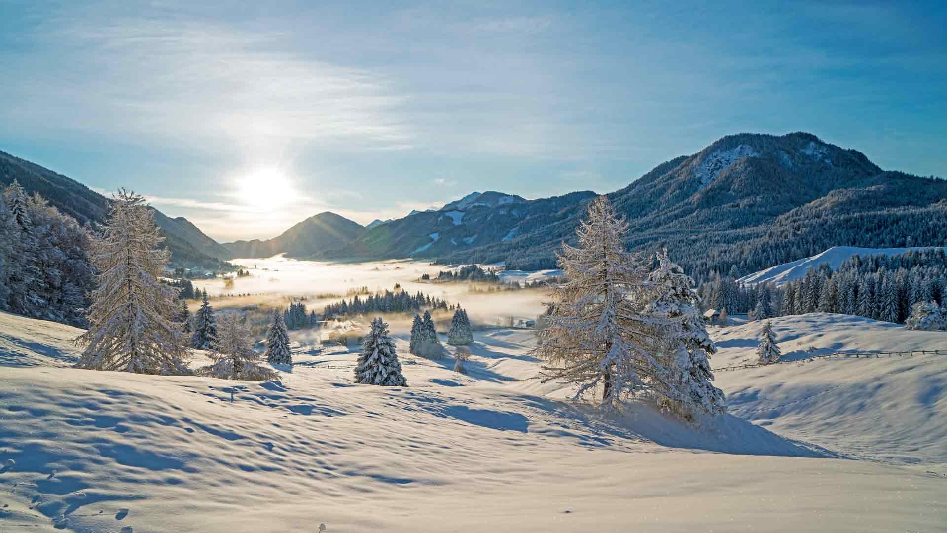 Winterurlaub am Weissensee