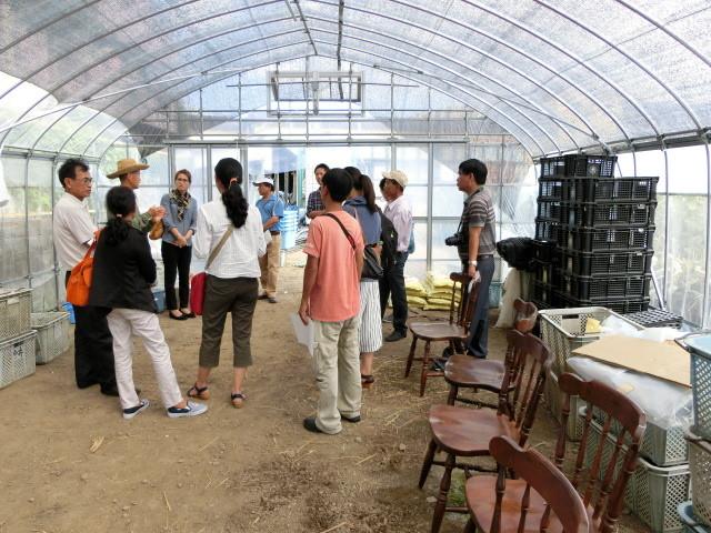 体験農園や栽培方法の説明です