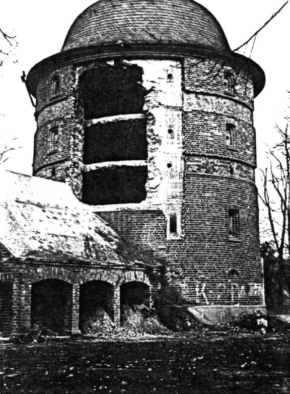 Entfestigung der Fassade 1948