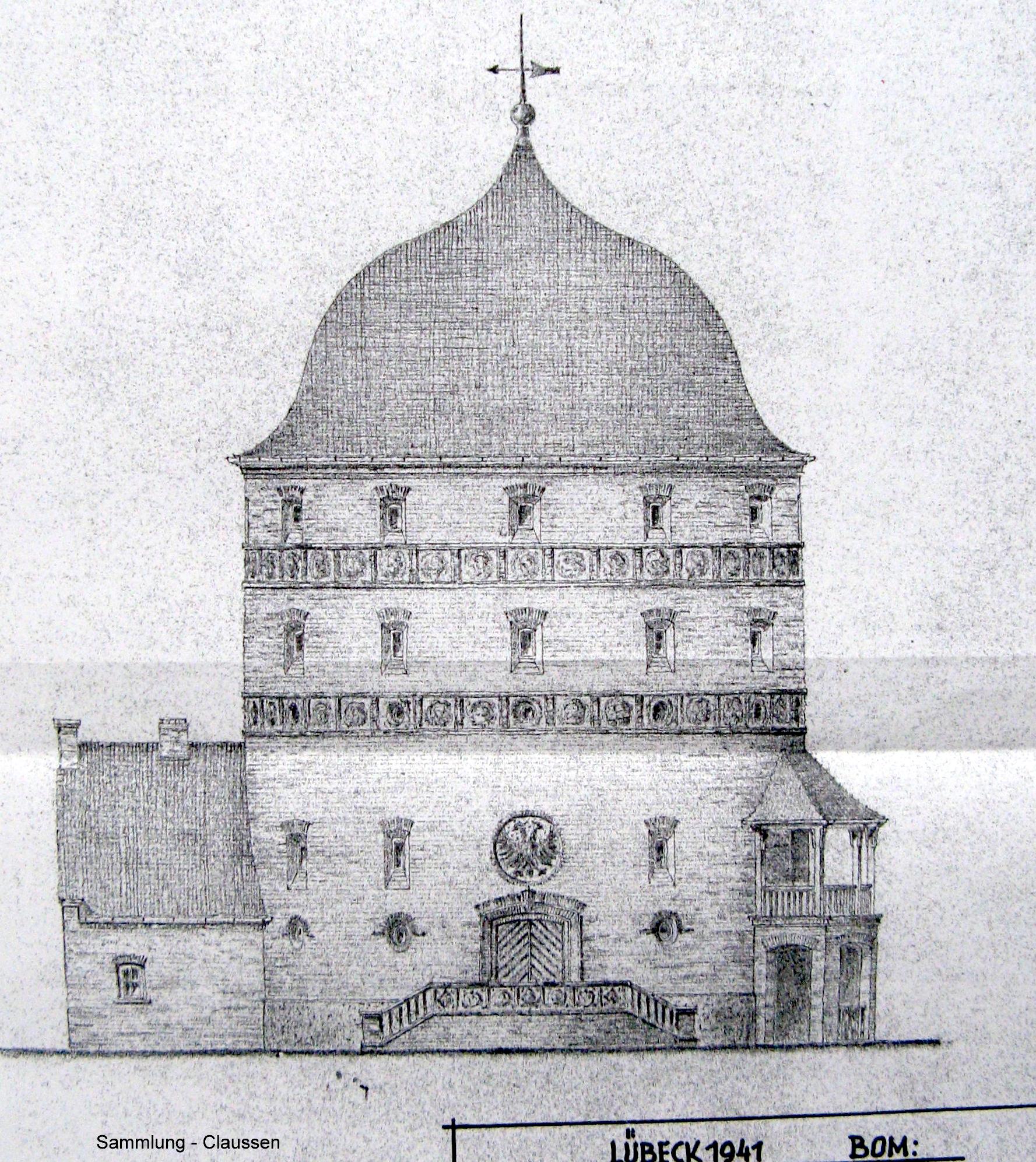 Entwurfsansicht 1941
