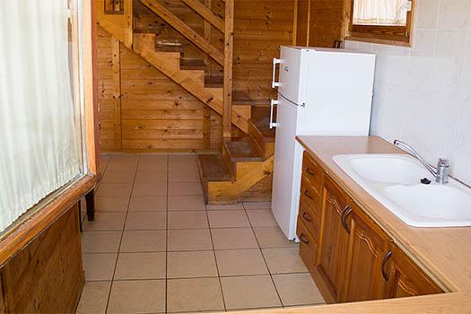 Cocina equipada del bungalow