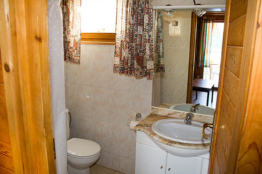 Cuarto de baño del bungalow