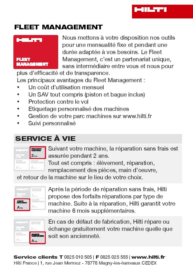 Leaflet produit - Dernière page création originale pour déclinaison en interne ensuite