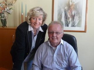 Annegret Heine-Frick und Richard Heine