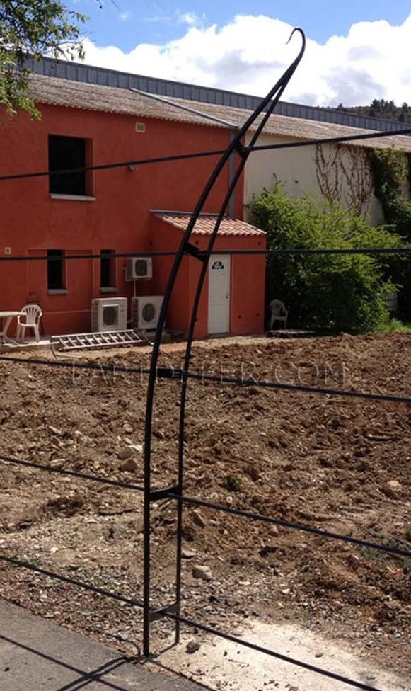 Poteau de clôture de domaine