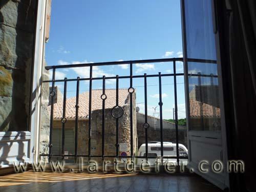Garde corps de fenêtre