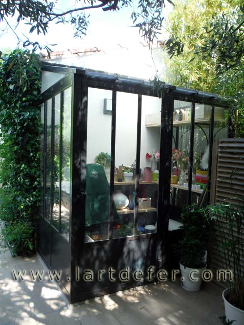 Véranda, jardin d'hiver