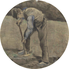 De spitter - Vincent Van Gogh