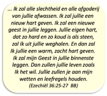 Ezechiël 36:25-27