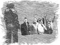reus-politieman en hooligans