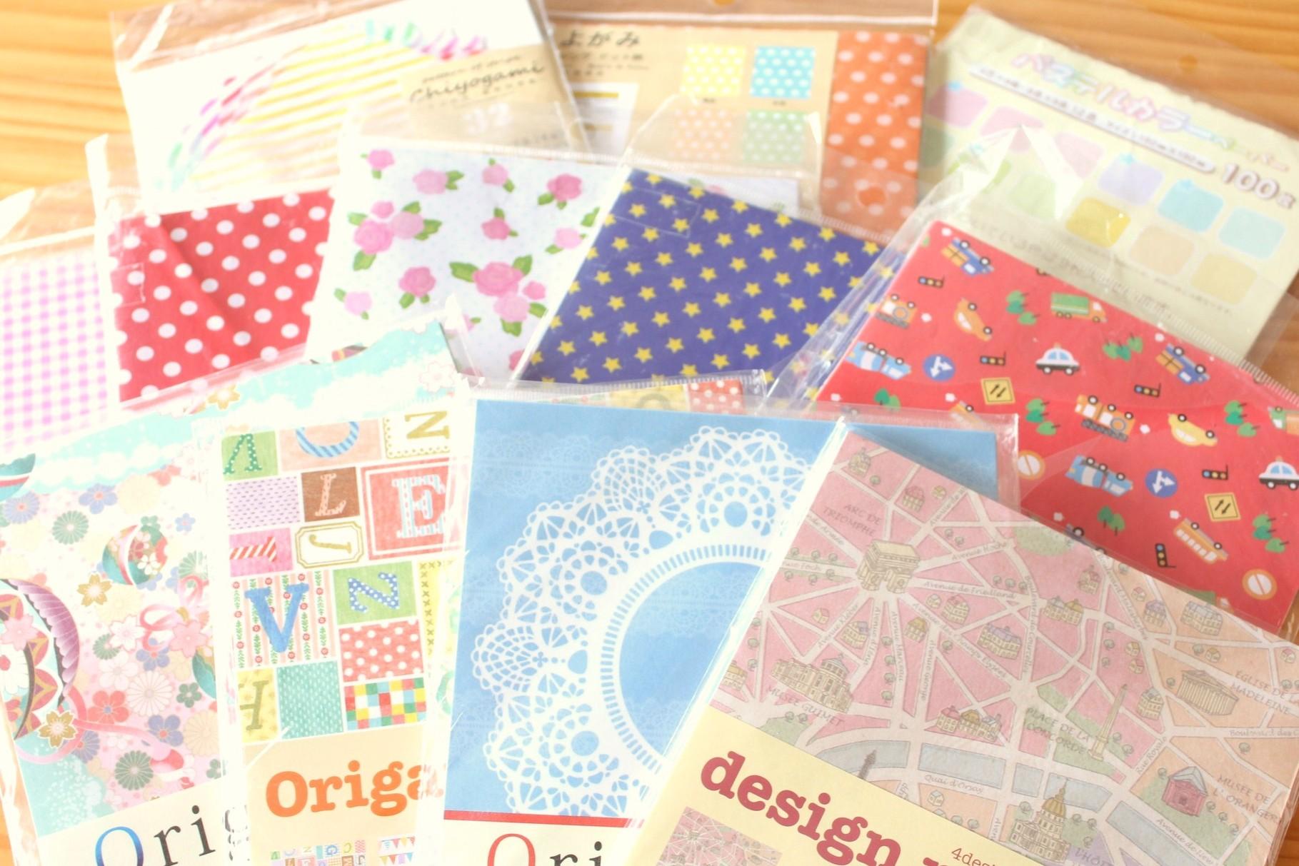いろんな種類の折り紙