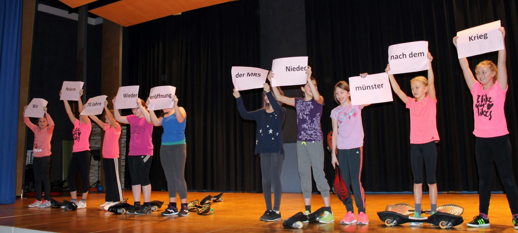 Wir feiern 70 Jahre Wiedereröffnung der Mädchenrealschule Niedermünster nach dem Krieg