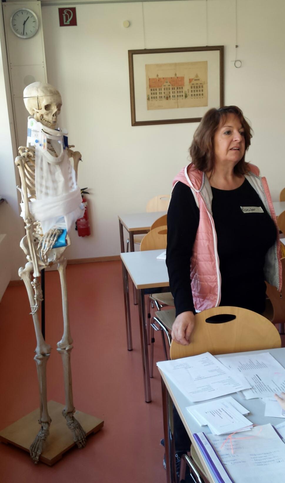 Versorgung von Verletzungen des Knochengerüstes