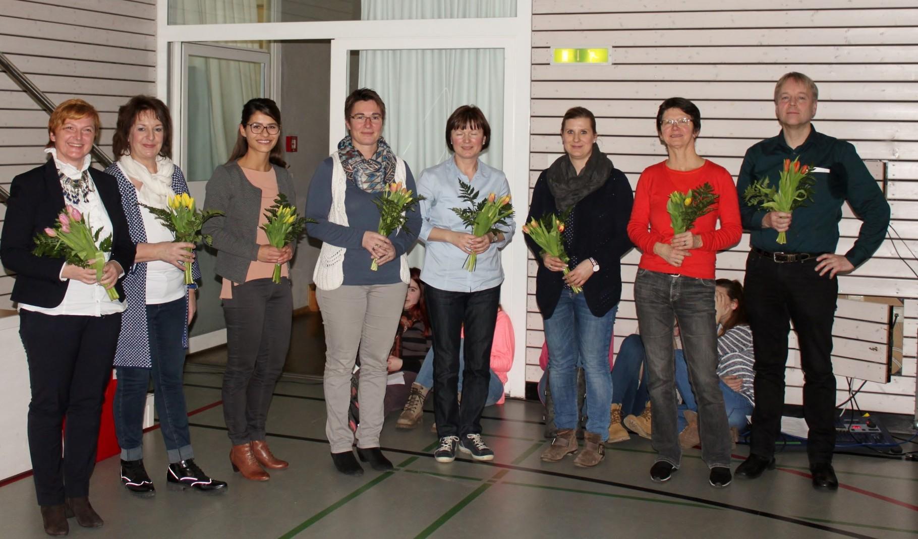 Ein kleiner Dank an alle am Projekt beteiligten Lehrkräfte