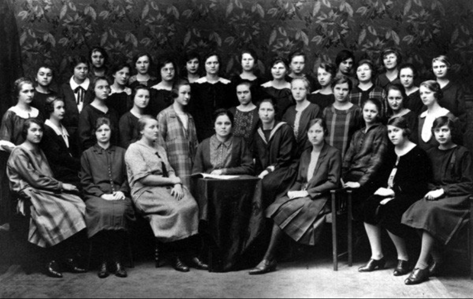 2. Klasse der Hauswirtschaftlichen Fachschule, 1926