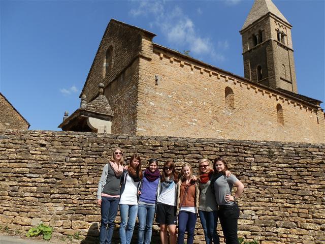 Ein kleiner Ausflug ins Dorf Taizé.