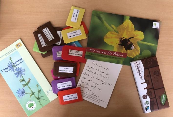 Geschenke für die Schülerinnen