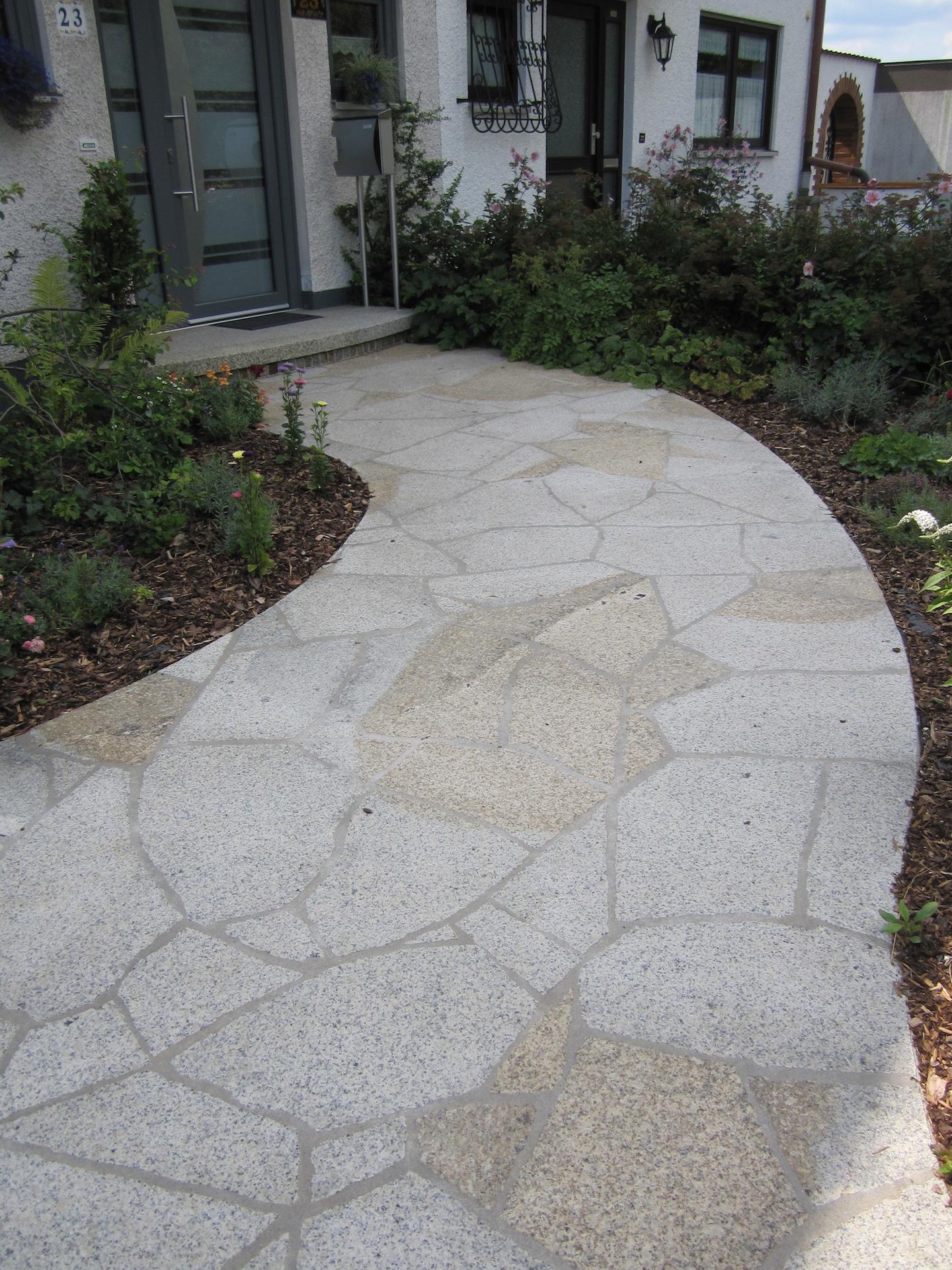 Naturstein Polygonal Granitbodenbelag
