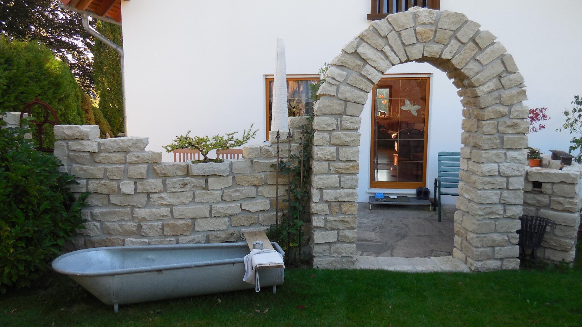 Steinbogen Naturstein