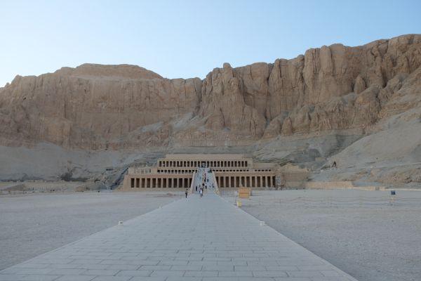 Tempel Hatschepsut in Luxor