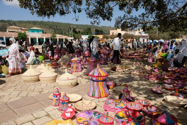 Basket Market in Aksum